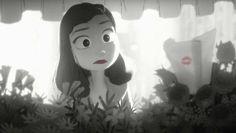 """► """"Paperman"""", cortometraje animado de 2012. Ganó un premio Annie y un premio Óscar en la categoría de mejor cortometraje animado. ║ Producción:  Walt Disney Animation Studios - Dirección: John Kahrs."""