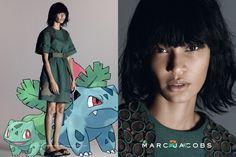 Campanha Marc Jacobs pelo Tumblr Pokemon&Fashion