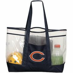 Women's Chicago Bears Mesh Pocket Duffel Bag