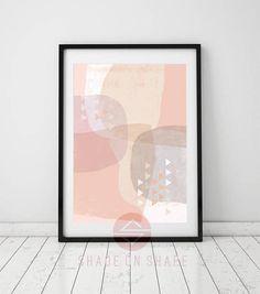Scandinavian printable art INSTANT DOWNLOAD  Geometric