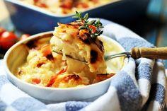 V kuchyni vždy otevřeno ...: Zapékaný ( gratinovaný ) květák v sýrovém bešamelu...