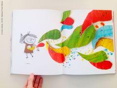 """""""VACÍO"""" de Anna Llenas © Barbara Fiore Editora. All rights reserved. """"EL BUIT"""" d'Anna Llenas © Barbara Fiore Editora. Tots els drets reservats."""