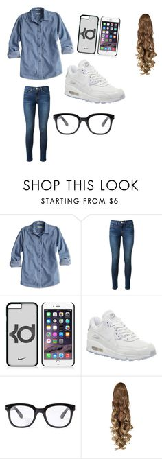 """"""""""" by tejagee ❤ liked on Polyvore featuring beauty, Frame Denim, NIKE and Forever 21"""