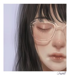 Digital Art Girl, Digital Portrait, Portrait Art, Aesthetic Art, Aesthetic Anime, Cute Art Styles, Human Art, Realistic Drawings, Pretty Art