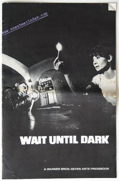 Wait Until Dark.  This is a good one for Halloween.  It stars Audrey Hepburn as a blind woman who stumbles into danger inadvertently.  A dangerous stranger turns up to her house.
