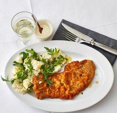 Meerrettich-Schnitzel mit Blumenkohlsalat Rezept - [ESSEN UND TRINKEN]