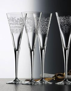 DELIGHT Nachtmann Toasting Flutes Toasting Flutes, Wine Cocktails, Champagne Glasses, Moomin, Sparkling Wine, Wine And Spirits, Martini, Wedding Inspiration, Crystals
