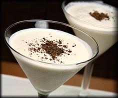 Snow Storm Martini  2 oz. Vodka  1 oz. Godiva White Chocolate Liqueur  1 oz. White creme de cacao