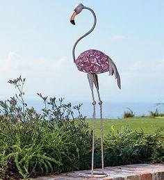 Pink Flashy Yard Flamingo!!