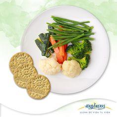 Dale un extra de sabor a tu verdura al vapor agregándole un chorrito de aceite de oliva, hierbas de olor o un poco de queso parmesano.     ¡Acompáñalas con tus Habaneras Integrales!