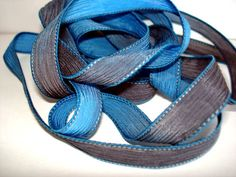 Arctic Blast 42 inch silk ribbon By Color by ColorKissedSingles, $3.00