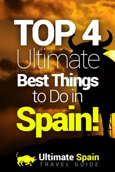 The list of things to do in Spain is endless, isn't it? For a first time visitor, you will be overwhelmed.However, I'll help you sort them out. Here's a list of the 4 most fun and must-do things in Spain.1 - Attend the Clasico MatchThe Clasico Match is to soccer what wrestlemania's main event is to wrestling. Two of the best soccer teams face each other for a straight electrifying ninety minutes. The match is held at least twice each year, once in Camp Nou Stadium, home of FC Barcelona, and…