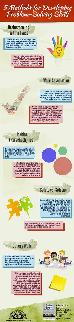 5 Methods to Develop Problem-Solving Skills