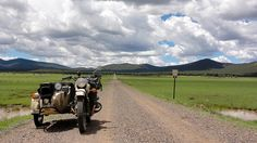 Here s a beautiful shot of a Ural Gear-Up on a stretch of road in New Mexico.  I found this on a great blog about a trip from Canada to Mexico through the Rocky Mountains.  http://www.rebelpacket.net/2013/09/17/day-19-pie-town-nm-to-silver-city-nm/