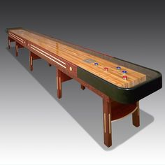 American-made Grand Champion Shuffleboard, manufactured in Texas by Champion Shuffleboards Shuffleboard Games, American Made, Game Room, Bobs, Champion, Tables, Texas, Inspiration, Texas Travel