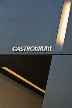Exterior view of the Gastromium restaurant in Sevilla, Spain by architect Francesc Rife _