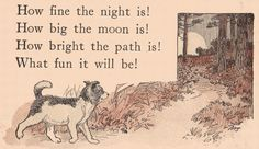 """https://flic.kr/p/7JAobU   Going to the Woods ill by Charles Copeland   Naughtiness leads to trouble.  From """"The Little Kingdom First Reader"""" by Nettie Alice Sawyer, 1912, illustrated with line drawings by Charles Copeland and silhouettes by Clara P. Reynolds.  Copyrighted by Nettie Alice Sawyer.  Published by by Rand McNally & Co."""