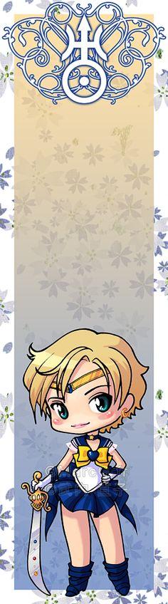Sailor Uranus bookmark by Marc-G.deviantart.com on @deviantART