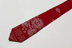 Tanja.L / pánska kravata Folk, Couture, Accessories, Fashion, Scrappy Quilts, Moda, Popular, Fashion Styles, Forks