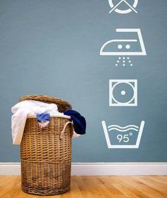 Laundry Room Wall Idea