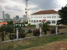 Governor House, now as museum, Melaka, Malaysia