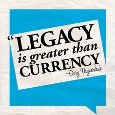 Inspirational Legacy Quotes Quotes from some of the most successful  #garyvaynerchuk #garyvee #kurttasche