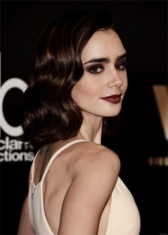 Actress Lily Collins attends the 20th Annual Hollywood Film Awards at The Beverly Hilton Hotel on November 6, 2016 in Beverly Hills, California.
