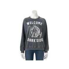 "Juniors' Star Wars ""Dark Side"" Graphic Sweatshirt, Teens, Size: Medium, Oxford"
