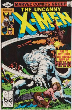 Uncanny X-Men #140 (1963 1st Series) December 1980   Marvel Comics   Grade VF