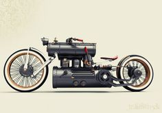 steampunk bike
