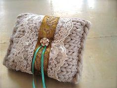 Wedding ring pillow romantic vintage by EandAHeritage on Etsy, $55.00