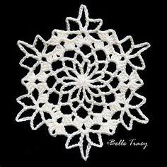 """Результаты поиска изображений по запросу """"free crochet snowflakes patterns"""""""