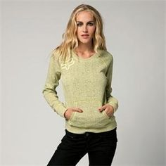 Fox Racing Women's Edge Pullover Sweatshirt - X-Large/Day Glo Yellow by Fox Racing. $31.99. Fox Racing Womens Edge Pullover Sweatshirt The Edge Pullover perfectly borders comfort and Style This pullover is so simple, its the perfect sweatshirt to top off any outfit. Embroidered Fox logo on wearers right chestRaglan sleevesRaw edge details at seams60% Cotton 40% Polyester Fleece. Save 19%!
