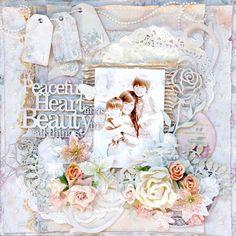 Heart Beauty - Scrapbook.com Melissa Frances papers