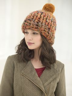 Hat In A Flash - Free Knitting Pattern