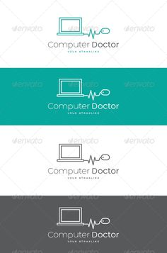 Computer Doctor  - Logo Design Template Vector #logotype Download it here: http://graphicriver.net/item/computer-doctor-logo/7506900?s_rank=794?ref=nexion