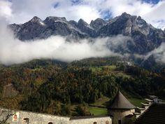 Hohenwerfen in Oostenrijk