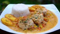 """Fish in coconut sauce This dish is EXCELLENT and will make your diners think they are at a fine dining establishment and you are going to """"swoon"""" because it is amazingly easy!"""
