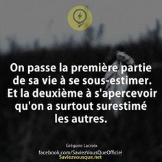 Never Give Up Some Quotes, Daily Quotes, Words Quotes, Sayings, Understanding Anxiety, Life Rules, French Quotes, Joy Of Life, Some Words