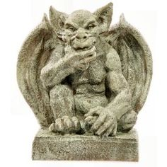 Thoughtful Garden Gargoyle