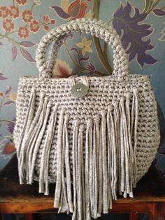 Paola Cognigni bag in fettuccia di cotone