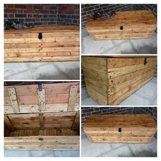 Rustic Storage Bench Handcrafted from Reclaimed Wood by TimberWolfFurniture on Etsy
