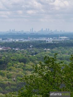 The Kennesaw Mountain Trail catches stunning views from the mountain's summit