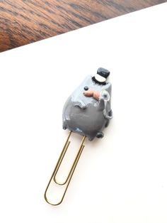 Like - ALL of the Pusheen cats!! Pusheen Planner Clip Paper clip Bookmark Polymer by Olivescrest