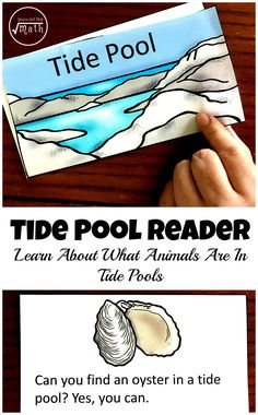 Read all about the animals found in a tide pool in this easy reader. There are sight word activities and reading comprehensions activities to go along with it.