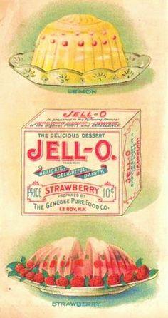 vintage jell-o ad