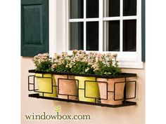 "The ""Contemporary"" Window Box Cage (Square, non-tapered design)"