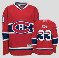 02c3fdd40 NHL Montreal Canadiens  33 Patrick Roy Red CH Jersey Old Price  114.99 Sale