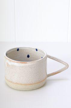 Cobalt Dot Mug | KOROMIKO
