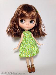 RESERVED - OOAK Custom Blythe Doll fake - Yvonne de MissLittleBlythe en Etsy